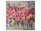 Floral Frenzy Pink I Prints by Alan Hopfensperger