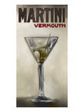 Martini Vermouth Prints by Rick Novak