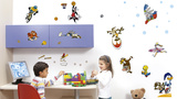 Looney Tunes Sports Wall Decals Autocollant mural