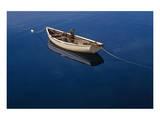 Fishing Boat Poster di Mike Grandmaison