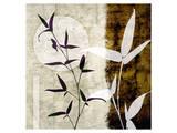 Bamboo Moon II Print by Christine Zalewski