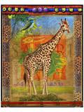 Giraffe I Kunstdruck von Chris Vest