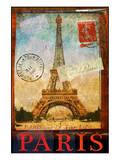 Paris Tour Eiffel Tower, Trocadero Kunstdrucke von Chris Vest