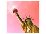 Golden Liberty Poster av Richard James