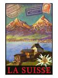 Switzerland, Swiss Mountains, Matterhorn Poster von Chris Vest