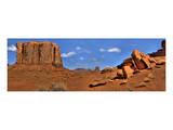 Monument Valley North Widow Affiches par Richard Desmarais