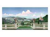 Tuscan Landscape Kunstdrucke von Victor Valla