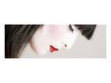 Geisha Profile Affiches par Richard Desmarais