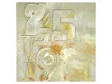 Counting to Four Kunstdrucke von Rachel Travis