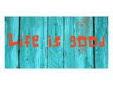 Life is good III Poster por Irena Orlov