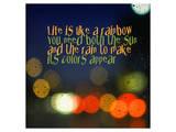 Regenbogen Kunstdrucke von Irena Orlov