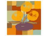 Vase with Yellow Flowers Art par  Yashna