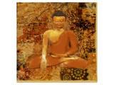 Buddha II Art by Irena Orlov