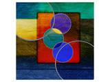 Abstract intersect Iia Prints by Catherine Kohnke