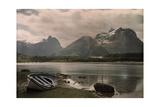 A View of Troldtinder Mountain Fotografisk tryk af Gustav Heurlin
