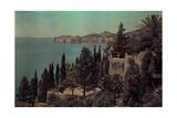 A View of the Dalmatian Coast Fotografisk tryk af Hans Hildenbrand