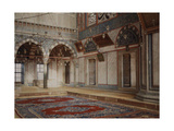 A View of the Interior of a Room in the Sultan Selim Mosque Fotografisk tryk af Gervais Courtellemont