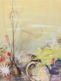 A Painting of a California Marine Sea Life Scene Lámina giclée por Else Bostelmann