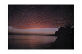 A View of the Clouds over the California Coast Photographic Print by Franklin Price Knott