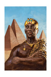Taharqa Was the Greatest of Egypt's Nubian Kings Giclée-tryk af Gregory Manchess
