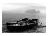 Isle of San Giulio in the Mist Kunstdruck