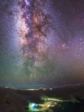 The Milky Way Towards the Bright Central Bulge in the Constellations Scorpius and Sagittarius 写真プリント : Babak Tafreshi