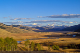 Lamar Valley on a Summer Evening Photographic Print by Tom Murphy
