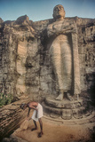 The Gal Vihara Standing Buddha Statue at Polonnaruwa, Sri Lanka Photographic Print by David Hiser