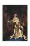 Portrait of Louis XVI of France, King of France and Navarre Giclee Print by Antoine-Jean Gros