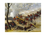Paraguayan Artillery Giclee Print by Candido Lopez