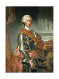 Portrait of King Charles III of Spain Giclee Print by Anton Raphael Mengs