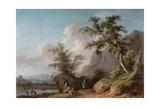 Landschaft Giclée-Druck von Jacopo [giacomo] Vignola