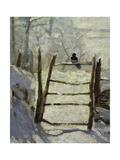 Die Elster Giclée-Druck von Claude Monet