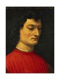 Portrait of Giuliano De Medici Giclée-tryk af Agnolo Bronzino