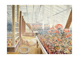 Geraniums and Carnations Giclee Print by Eric Ravilious