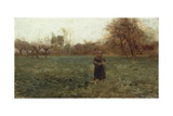 End of Autumn, 1891 Giclee Print by Giuseppe Pellizza da Volpedo