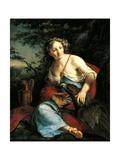Hebe and Jupiter Giclée-Druck von Suzanne Valadon