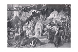 Thusnelda at the Triumph of Germanicus Giclee Print by Karoly Lotz