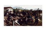 The Battle of Varese, Circa 1862 Giclee Print by Federico Rossano