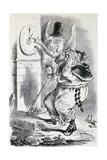 Satirical Anticlerical Cartoon, Italy Giclee Print by Francesco Rosaspina