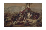 The Thirst of the First Crusaders Suffered in Jerusalem, 1837 Giclee Print by Francesco Hayez