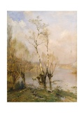 The Birches, 1895 Giclee Print by Federico Rossano