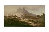 Mount Etna, Sicily Giclee Print by Frederick Goodall
