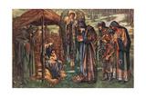 The Star of Bethlehem Giclee-trykk av Sir Henry Raeburn