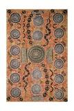 Aboriginal Painting, Art Gallery, Alice Springs, Australia Reproduction procédé giclée