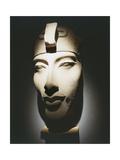 Head of Pharaoh Akhenaten, from Karnak Giclée-tryk