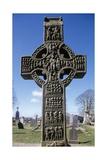 Muiredach's High Cross, Monasterboice, County Louth, Ireland Giclée-vedos