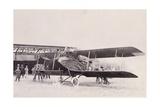 Albatros, a Bulgarian Military Aircraft, 1912-13 Giclee Print