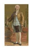 Antoine Lavoisier, French Chemist Giclée-tryk