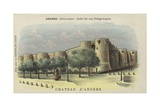 Chateau D'Angers, Angers, Maine-Et-Loire Giclee Print by  French School